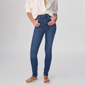 Aritzia Denim Forum the Lola high rise skinny jean